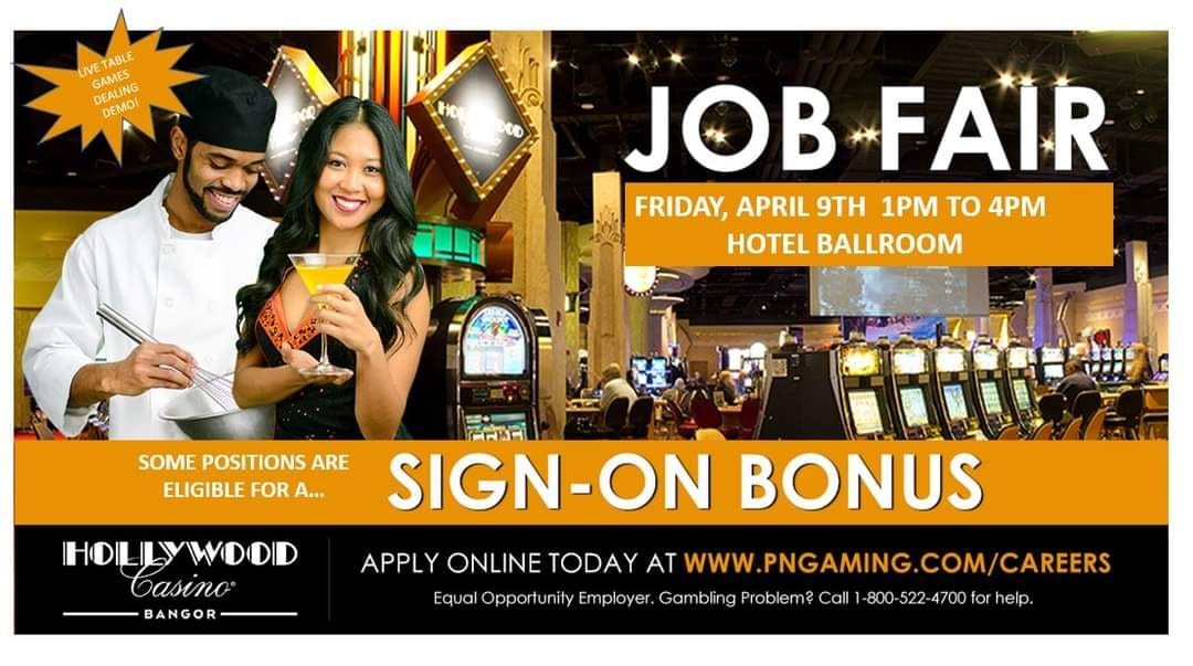 The Hollywood Casino is Hiring with $1,000 Sign On Bonuses